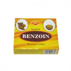 Cônes d'encens Benzoin