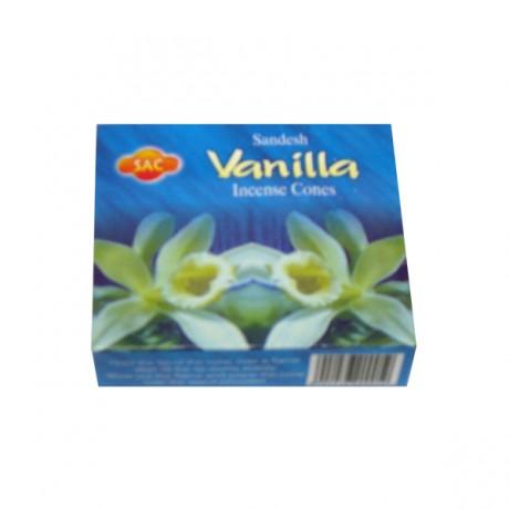 Cônes d'encens Vanille
